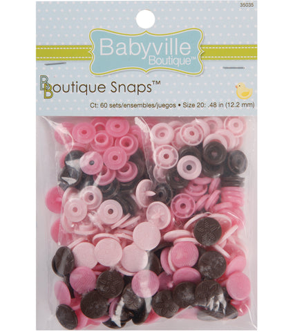 Babyville Boutique Snaps - Size 20 Mod Girl Flower