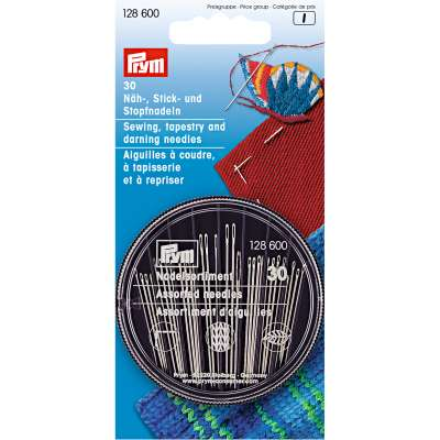 PRYM Sewing, Embroidery and Darning Needles Compact