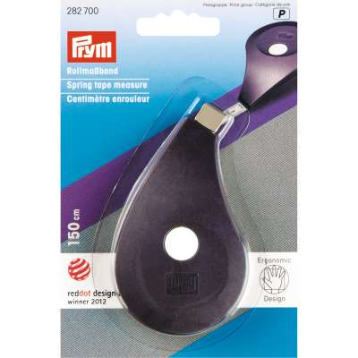 PRYM Ergonomic Spring Tape Measure