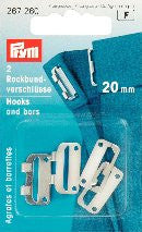 PRYM Skirt Waistband Fasteners 20mm / 25mm