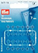 PRYM Press Stud Plastic (Square) 7mm - 9mm