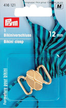 PRYM 12mm Bikini and Belt Clasps Cloverleaf