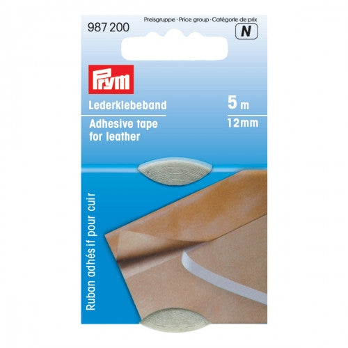 PRYM Adhesive Tape for Leather 12mm