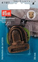 PRYM Tuck Lock Bag Fastener 26mm