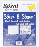 Bosal 500-18 Stitch-N-Steam  Fabric 62in x 18in