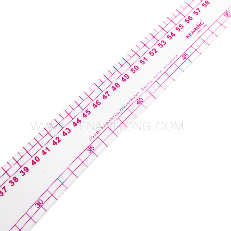 Model 6261 Metric Vary Form Curve Ruler