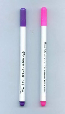Air-erasable fabric marking pen