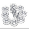 HA Plastic Bobbins (9pc)