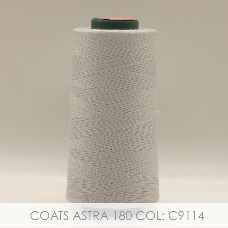 Coats Astra-180 Polyester Spun Thread 5000m