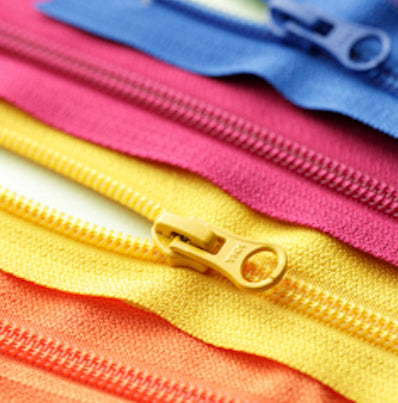 """Zipper-by-the-meter"" Nylon Coil Zipper"