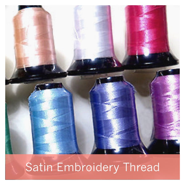 Satin Machine Embroidery Thread 500m