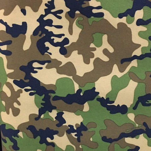 Babyville Boutique PUL Fabric - Camo (YARD)