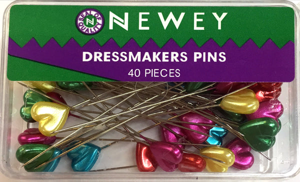 PRYM Newey Assorted Heart Pins