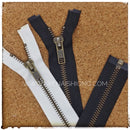 YKK Antique Brass Open-end (Jacket) Zipper