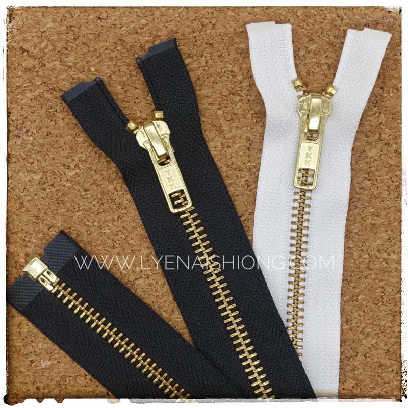 YKK Gold Open-end (Jacket) Zipper