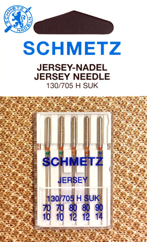 Schmetz 130/705 H SUK Jersey Sewing Needles
