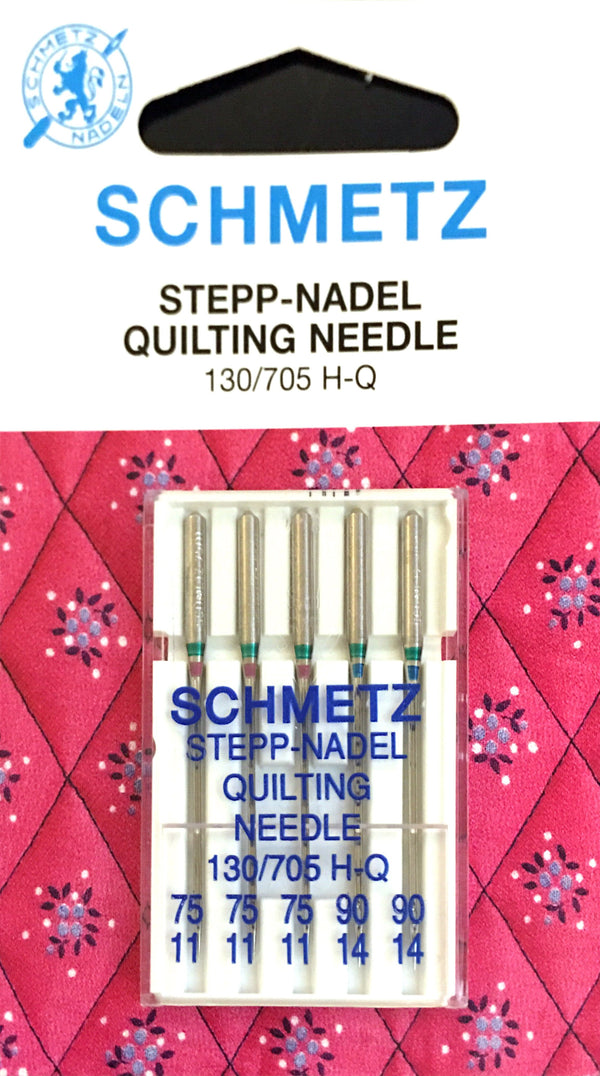 Schmetz 130/705 H-Q Quilting Sewing Needles