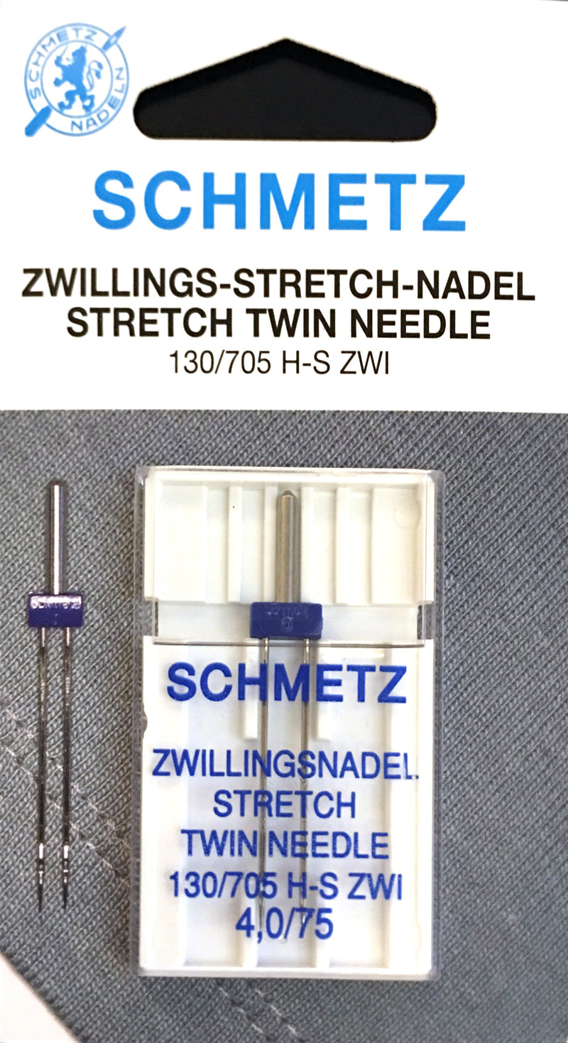 Schmetz 130/705 H-S  ZWI Stretch Twin Sewing Needles