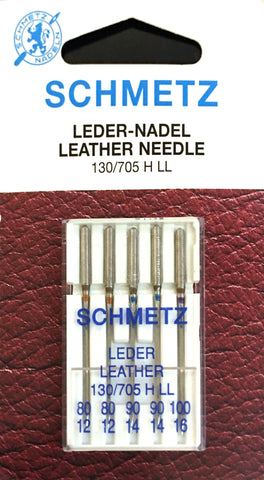 Schmetz 130/705 H LL Leather Sewing Needles $5.20 130/705, HAx1, Sale, Schmetz, sewing machine, sewing machine needles Lye Nai Shiong