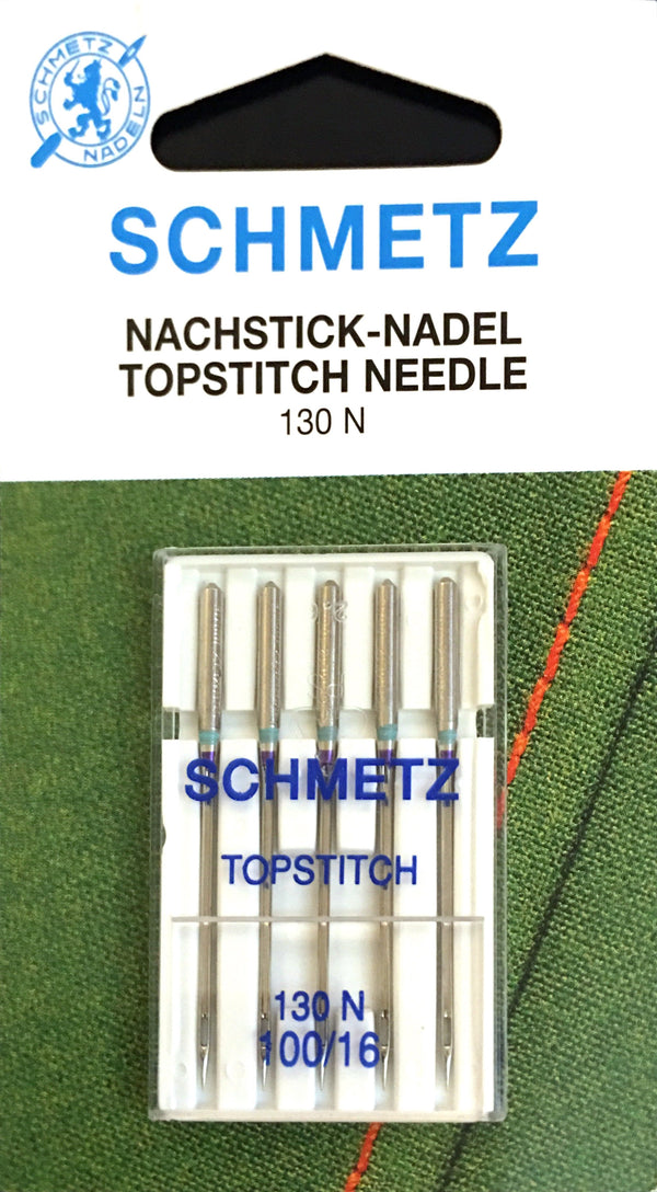 Schmetz 130 N Top-stitch Sewing Needles