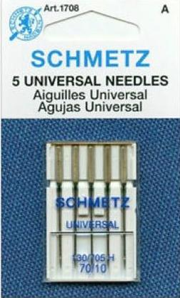 Schmetz 130/705H Universal Sewing Needles