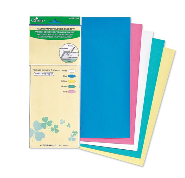 "Clover Tracing Paper ""Chacopy"""