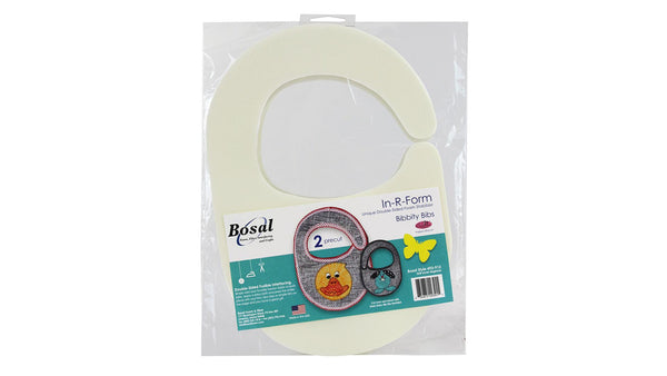 Bosal 493-912 In-R-Foam  double-side Foam Stabilizer  (Bib-shape)