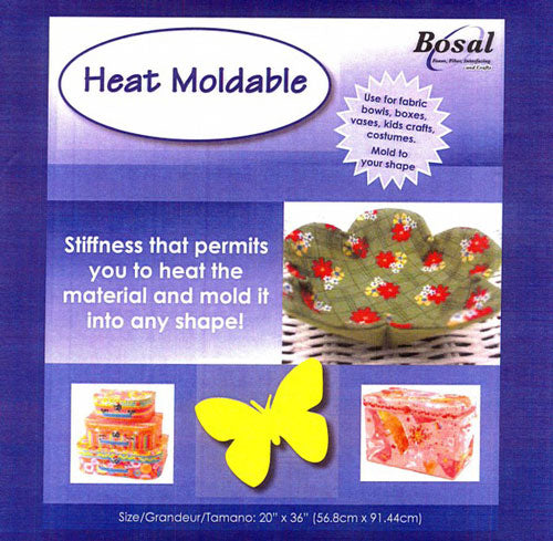 Bosal 490 Sewn-in Heat Modable Fabric