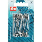 Prym Safety Pins Hardened Steel No.00 / 2 / 3