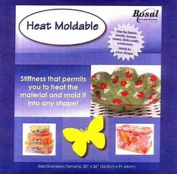 Bosal 491 Double-side Fusible Heat-mouldable  20in x 36in