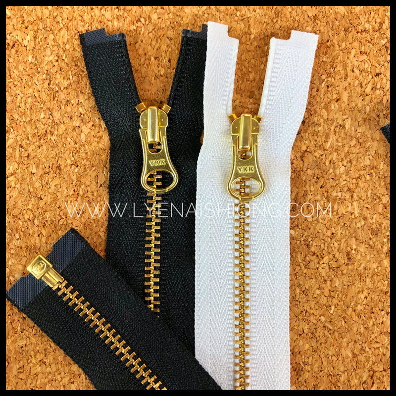 YKK Metal Open-end Zipper