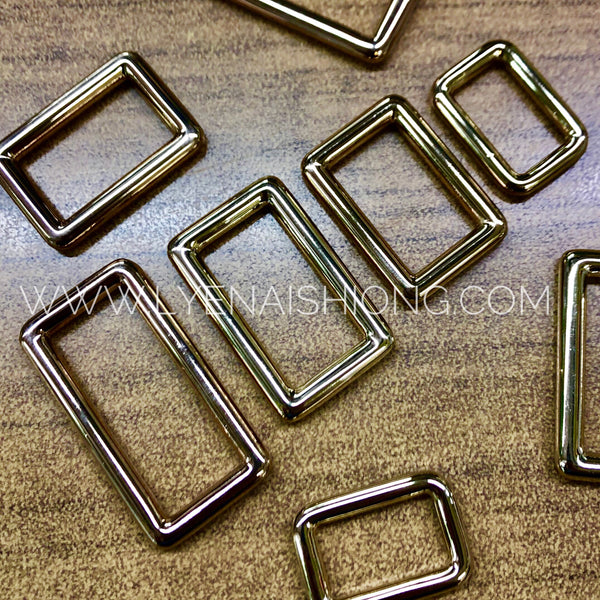 Gold Alloy Square Ring