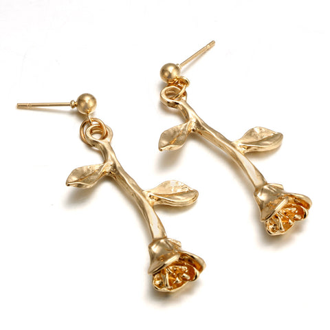 BLOOMSBURY GOLD EARRINGS