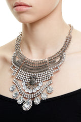 MAYFAIR STATEMENT NECKLACE - SILVER