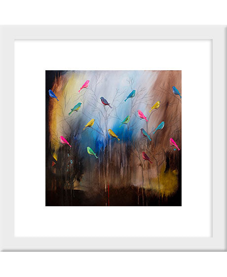 Birds 3 - art print | Carré Art