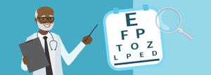 What does the R90 eye test include?