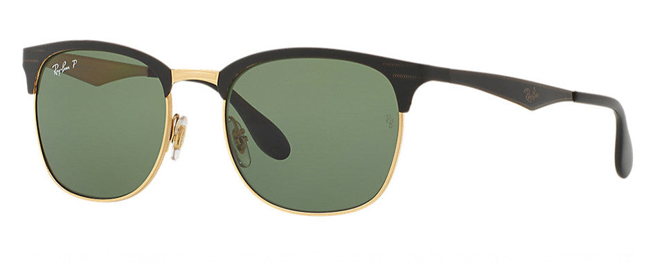 Black Ray-Ban Clubmaster New - Vision Works Discount Designer Sunglasses 5fd9792037