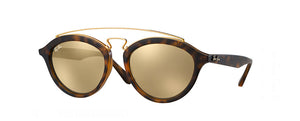Gold Ray-Ban RB4068 - Vision Works Discount Designer Sunglasses