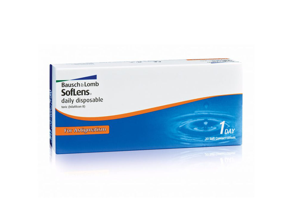 B&L Soflens Daily Disposable for Astigmatism