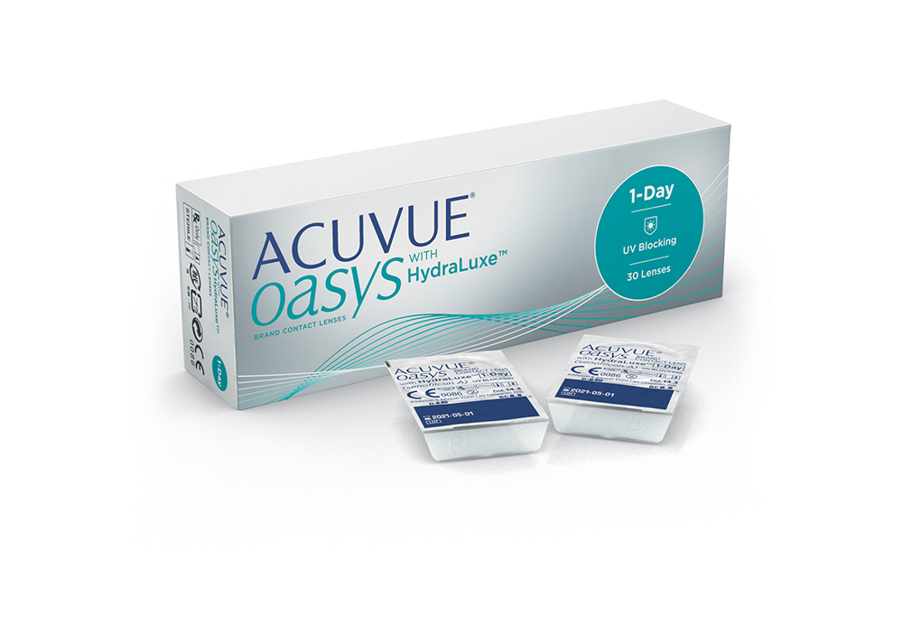 Moscon - Acuvue Oasys daily with HydraLuxe