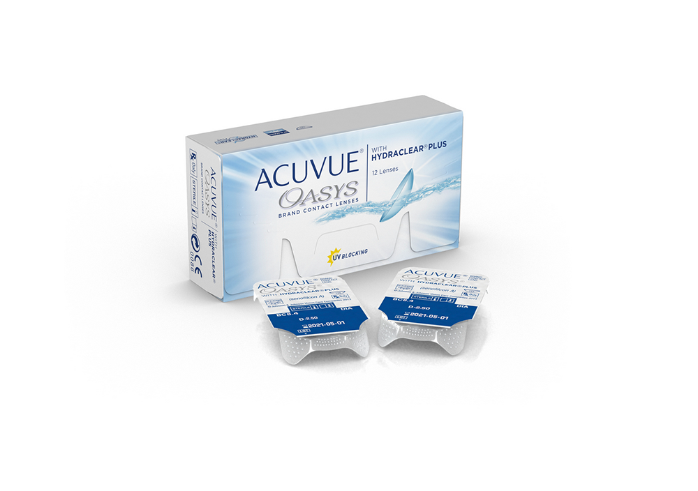 Moscon - Acuvue Oasys with Hydraclear Plus
