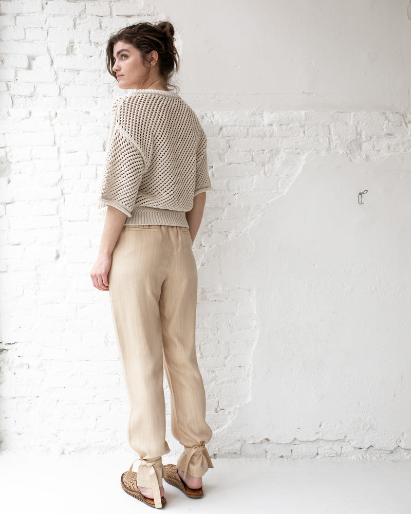 Roze trousers - Tan