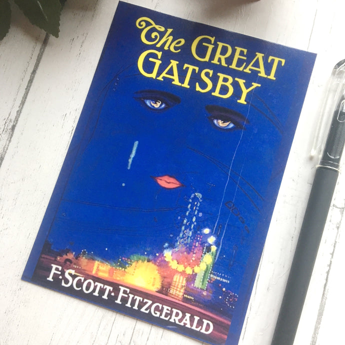The Great Gatsby Postcard - Nabu Bookish Gifts