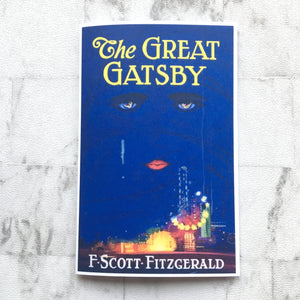 Greeting Card - The Great Gatsby - Original Book Cover - Literary Gift