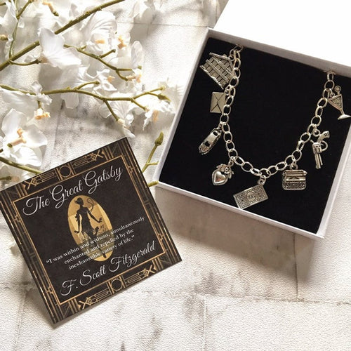 The Great Gatsby Bracelet - Nabu Bookish Gifts | Literary Gifts For Book Lovers