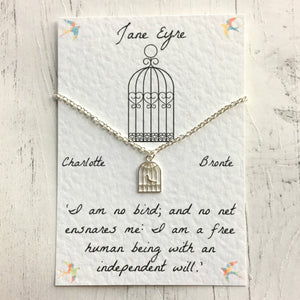Jane Eyre Necklace - Nabu Bookish Gifts | Literary Gifts For Book Lovers