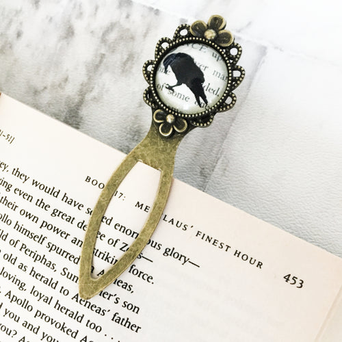 The Raven Bookmark