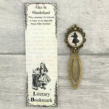 Alice In Wonderland Bookmark - Alice - Nabu Bookish Gifts | Literary Gifts For Book Lovers