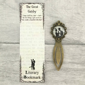 The Great Gatsby Bookmark - Nabu Bookish Gifts