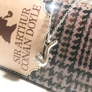 Sherlock Holmes Necklace - Pipe